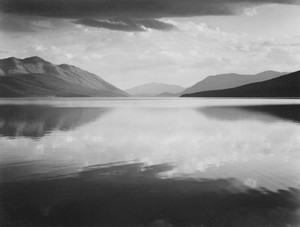 Art prints of Evening, McDonald Lake, Glacier National Park, Montana