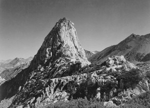 Art prints of Fin Dome, Kings River Canyon by Ansel Adams