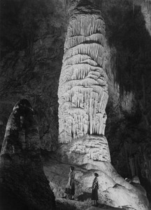 Art prints of Giant Domes in the Interior of Carlsbad Caverns National Park, New Mexico