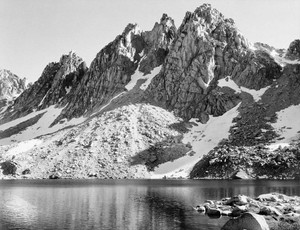Art prints of Kearsarge Pinnacles, Kings River Canyon by Ansel Adams
