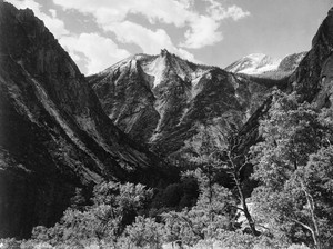 Art prints of Paradise Valley, Kings River Canyon by Ansel Adams