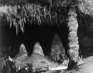 Art prints of The Rock of Ages in the Big Room, Carlsbad Caverns National Park, New Mexico