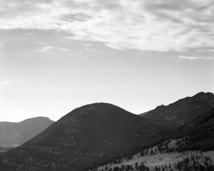 Art prints of View of hill with trees, Rocky Mountain National Park, Colorado