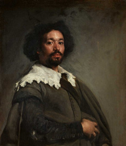 Art prints of Portrait of Juan de Pareja by Diego Velazquez