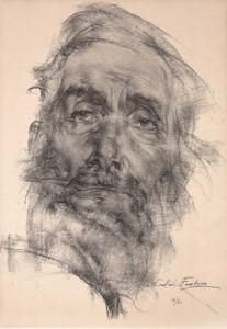 Art prints of The Philosopher, 1937 by Nicolai Fechin