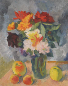 Prints and cards of Flowers and Apples by Nikolai Andreevich Tyrsa