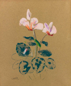 Prints and cards of Cyclamen by Odilon Redon