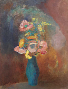 Prints and cards of Vase of Flowers IV by Odilon Redon