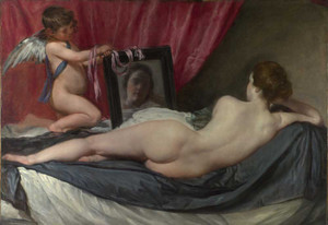 Art prints of The Rokeby Venus by Diego Velazquez