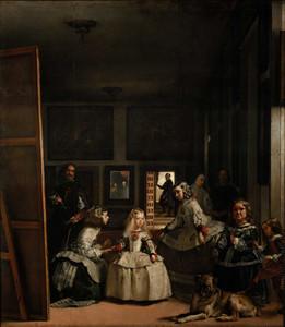 Art prints of Las Meninas by Diego Velazquez