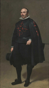 Art prints of Portrait of Don Pedro de Barberana by Diego Velazquz