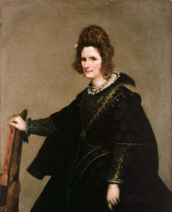 Art prints of Portrait of a Lady by Diego Velazquez