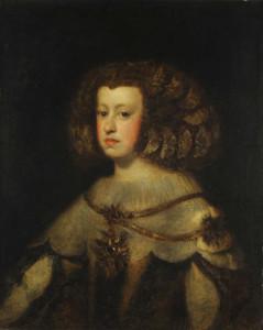 Art prints of Portrait of the Infanta Maria Teresa of Spain by Diego Velazquez