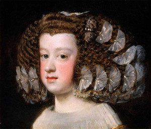 Art prints of Maria Teresa Infanta of Spain by Diego Velazquez