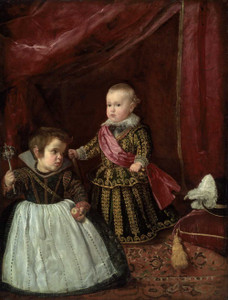 Art prints of Don Baltasar Carlos with a Dwarf by Diego Velazquez