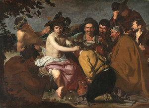 Art prints of The Triumph of Bacchus by Diego Velazquez