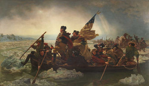 Art prints of George Washington Crossing the Delaware by Emanuel Leutze