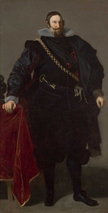 Art prints of Portrait of the Count-Duke of Olivares by Diego Velazquez