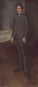 Art prints of George W. Vanderbilt by James Abbott McNeill Whistler
