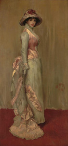 Art prints of Harmony in Pink and Gray, Lady Meux by James Abbott McNeill Whistler
