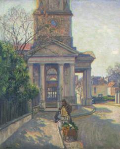 Art prints of Church Street, Charleston by Wilson Henry Irvine