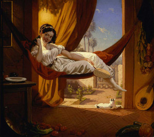 Art prints of Siesta by Charles Christian Nahl