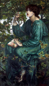 Art prints of The Day Dream by Dante Gabriel Rossetti