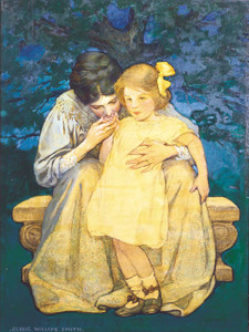 Art prints of Mother and Child II by Jessie Willcox Smith