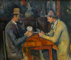 Art prints of The Card Players II by Paul Cezanne