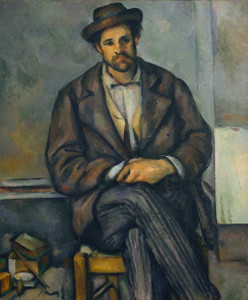 Art prints of Seated Peasant by Paul Cezanne