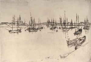 Art prints of San Giorgio by James Abbott McNeill Whistler
