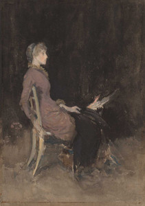 Art prints of Study in Black and Gold, Madge O'Donighue by James Abbott McNeill Whistler