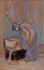 Art prints of The Violet Note by James Abbott McNeill Whistler