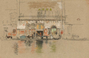 Art prints of The Palace Pink and White by James Abbott McNeill Whistler