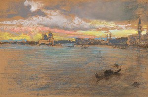 Art prints of The Storm Sunset by James Abbott McNeill Whistler