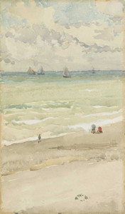 Art prints of The Seashore by James Abbott McNeill Whistler