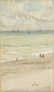 Art prints of The Seashore by James Abbott McNeill Whistler