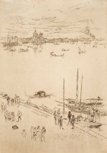 Art prints of Upright Venice from the Twenty-Six Etchings by James Abbott McNeill Whistler
