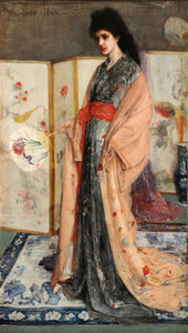 Art prints of The Princess from the Land of Porcelain by James Abbott McNeill Whistler
