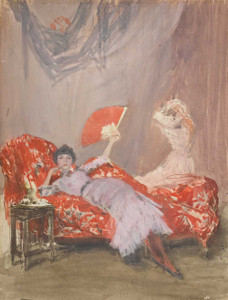 Art prints of Milly Finch by James Abbott McNeill Whistler
