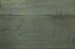 Art prints of Nocturne, Blue and Gold, Southhampton Water by James Abbott McNeill Whistler