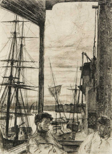 Art prints of Rotherhithe by James Abbott McNeill Whistler
