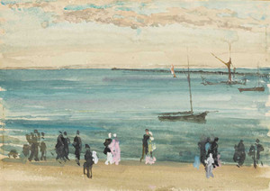 Art prints of Southend Pier by James Abbott McNeill Whistler