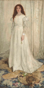 Art prints of Symphony in White by James Abbott McNeill Whistler