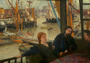 Art prints of Wapping by James Abbott McNeill Whistler