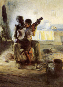 Art prints of The Banjo Lesson by Henry Ossawa Tanner