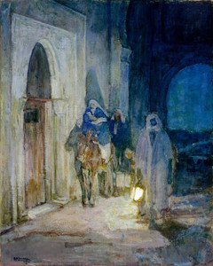 Art prints of Flight into Egypt by Henry Ossawa Tanner