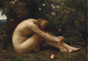 Art prints of Eve by Anna Lea Merritt