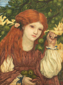 Art prints of Autumn by Marie Spartali Stillman