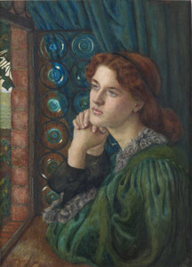 Art prints of Mariana by Marie Spartali Stillman